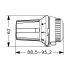 Danfoss Thermostatkopf RAW 013G5010 mit Klickbefestigung