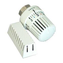 Oventrop Thermostat Uni LH, Fernfühler 2 m, weiß 1011665