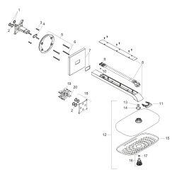 Hansgrohe Kopfbrause Raindance Select E 300 3jet Brausearm 390mm chrom 26468000