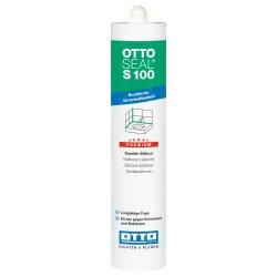 OTTOSEAL S100 Premium-Sanitär-Silikon 310ml C77 seidengrau