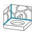 Ottoseal Silikon S70 Naturstein C44 Hellblau Struktur