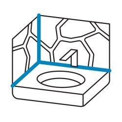 OTTOSEAL S70 Naturstein-Silikon 310ml C47 graublau struktur