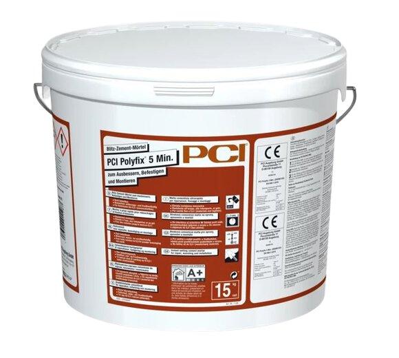 PCI Polyfix 5min Blitz Zement Mörtel 5kg