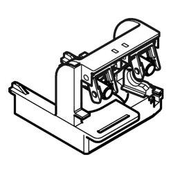 Geberit Lagerbock für Spülgarnitur Impuls. 240510001