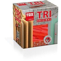 TOX Allzweckdübel Tri 6 x 36 mm, 100 Stück, 010100051