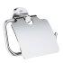 Grohe Essentials WC-Papierhalter rund mit Deckel chrom 40367001