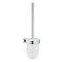 Grohe Essentials Cube Toilettenbürstengarnitur eckig chrom 40513001