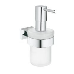 Grohe Essentials Cube Seifenspender eckig chrom 40756001