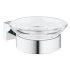 Grohe Essentials Cube Seifenschale mit Halter eckig chrom 40754001