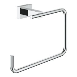 Grohe Essentials Cube Handtuchring eckig chrom 40510001