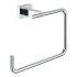 Grohe Essentials Cube Handtuchring eckig chrom 40510001
