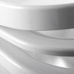 Pressalit 3 WC-Sitz mit Absenkautomatik & Liftoff weiß 684000-D77999