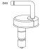 Pressalit Aqua WC-Sitz weiß 79000-D43999