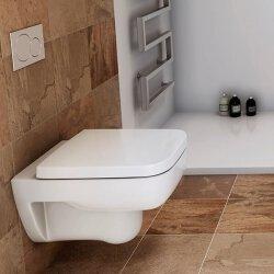 Pressalit Plan Standard WC-Sitz weiß 824000-DB6999