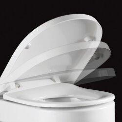 Pressalit Delight mit Absenkautomatik WC-Sitz weiß 492000-D09999