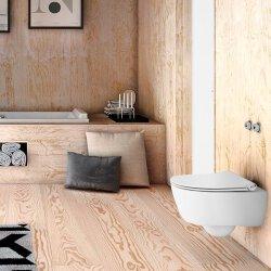 Pressalit Sway D mit Absenkautomatik & Liftoff WC-Sitz weiß 934000-BL6999