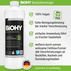BiOHY Backofenreiniger, Fettlöser, Konzentrat, 1l