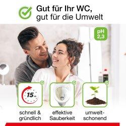 BiOHY WC-Reiniger, Toilettenreiniger, Urinsteinentferner, 1l