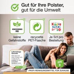 BiOHY Polsterreiniger, Matratzenreiniger, Bio-Konzentrat, 1l