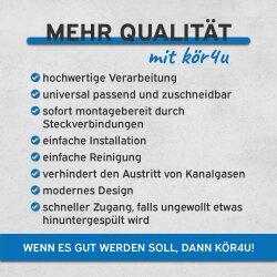 "kör4u Universal Design Siphon 1 1/4""x32mm chrom rund"