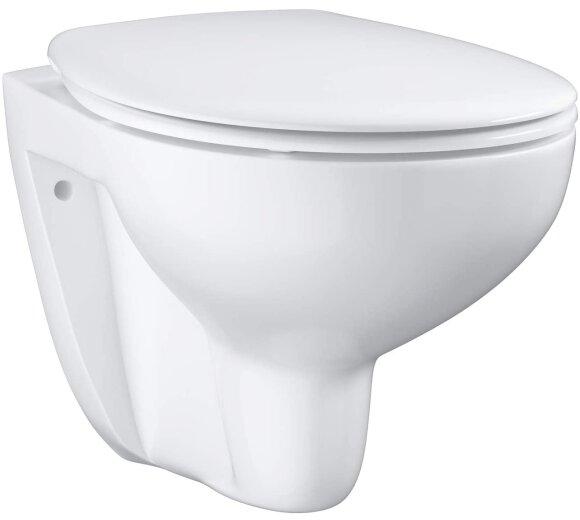 Grohe Bau Keramik Set Wand-Tiefspül-WC spülrandlos weiß 39351000