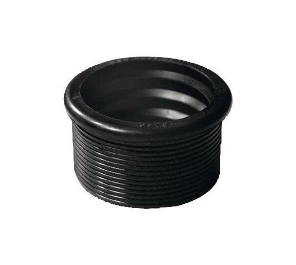 Otto Haas Gummi-Nippel für PE-HD- Rohre 63/50, 45 x 57 x 30 mm 3246