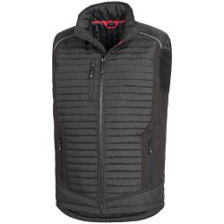 Nitras MOTION TEX PLUS Softshellweste schwarz 7660 4XL