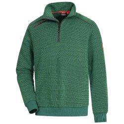 Nitras MOTION TEX PLUS Arbeitspullover grün 3XL 7034