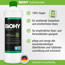 BiOHY Schmierseife, Fußbodenreiniger 1l