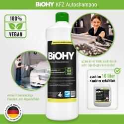 BiOHY Autoshampoo, Autoreiniger 1l