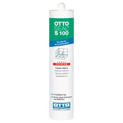 OTTOSEAL S100 Premium-Sanitär-Silikon 310ml C09 caramel