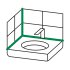 OTTOSEAL S100 Premium-Sanitär-Silikon 310ml C56 betongrau