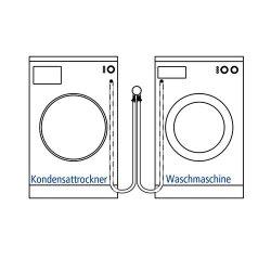 Airfit Doppel-Anschlusswinkel für Waschmaschine und...