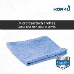 kör4u Mikrofasertuch blau 40x40cm