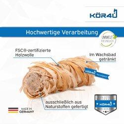 kör4u Premium Anzündwolle für Kamin, Ofen,...