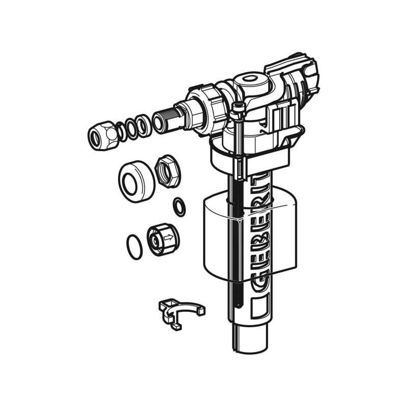 Favorit Geberit Füllventil Typ 380 seitilicher Wasseranschluss 240700001 HP28